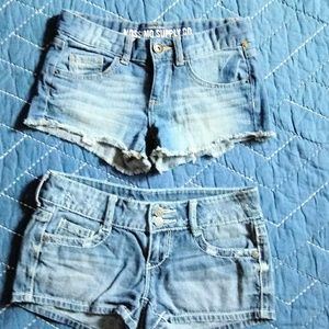 Denim Jean short bundle size 1, Decree and Mossimo